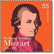 Mozart-Briefmarke